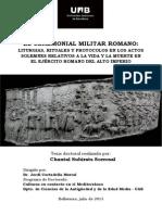 EL CEREMONIAL MILITAR ROMANO