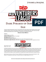 DDEX1-11 Dark Pyramid of Sorcerer's Isle