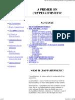 A Primer on Cryptarithmetic