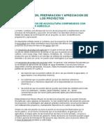 IDENTIFICACION, PREPARACION Y APRECIACION DE LOS PROYECTOS