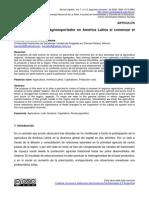 Balance Del Modelo Agroexportador en América Latina Al Comenzar El Siglo XXI