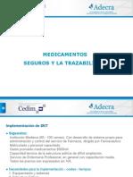 Medicamentos Seguros y La Trazabilidad