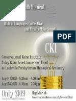 CKI - LPTS Flyer