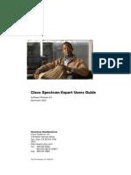 Cisco Spectrum Expert User Guide Version 4-0