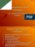 PARACLINICOS EN CARDIOLOGIA GERIATRICA