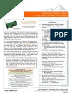 Alta Arinc  Mini PCI-E a429 Data Sheet