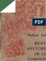 JEDIN H Breve Historia de Los Concilios Herder 1960