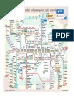 Plano de Metro de Munich