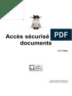 Acces Securise a Des Documents