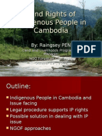 Land Rights of Indigenous People in Cambodia