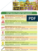 All Ceylon Jamiyyathul Ulama Halaal Certified Companies - 2010