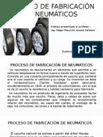 Proceso p. Neumaticos Powerpoint