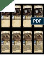 Auction Blueprint Card Sheet 9