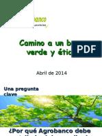 Agrobanco Banco Verde 4