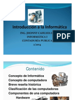 Introdintroduccion a La Informatica