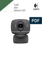 Hd Webcam c525 Quickstart Guide