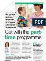 Get with the part-time programme