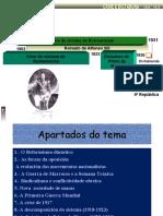 TEMA 11.-A crise do sistema da restauración (1902-1931