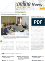 Informativo Obras online - Janeiro