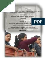 Reporte PIMSA- Estudio Binacional de Mujeres Inmigrantes en La Frontera...