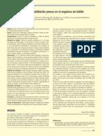 2010 Breve Efecto de La Rehabilitación Precoz en El Esguince de Tobillo