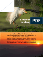 Biodiversit- En Danger