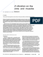 1982 the Effect of Vibration on the Skeleton, Joints and Muscles, A Review of the Literature
