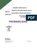Informe de Probabilidad