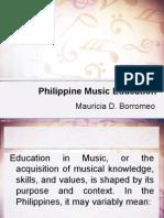 Philippine Music Education