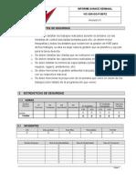 Informe de HSE Ejemplo y Explicacion