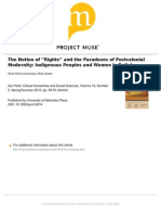 """The notion of """"Rights"""""""