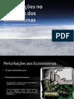 (4) Ciências Naturais - 8º Ano - Perturbações no equilíbrio dos Ecossistemas