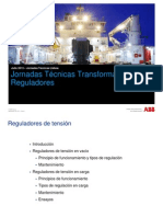 Reguladores de Tension Para Trafos ABB