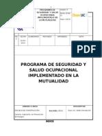 Programa de Segurivdvvvad y Salud Ocupacional Implementado en La Mutualidad (2).Docx Final