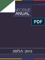 Informe de Gestión Consolidado 2013