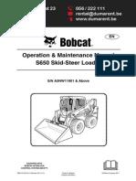 Bobcat s650 Ingles.pdf