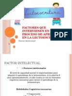 Factores Que Intervienen en El Proceso de Aprendizaje