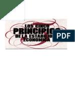 Los Cinco Principios de La Estabilidad Economica