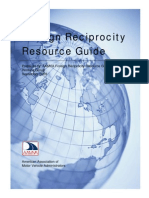 Foreign Reciprocity Resource Guide Sept2009