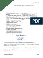 Resumen comentado del Pleno municipal del 3 de Julio en Nívar