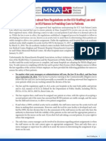 Primer on ICU Staffing Law and HPC Regulations