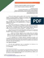 La Estructura Decisoria en Materia de Política Exterior de La Primera Administración de Cristina Fernández de Kirchner (2007-2011)