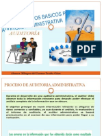 Procedimientos Basicos Para Auditoria Administrativa