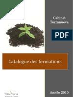 Catalogue Formation 2010