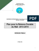 La Relance Durable Du Mali