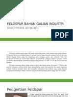 Geologi Mineral Industri Feldspar