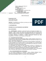Resolución Nº 32 Cusco, quince de Junio Del año dos mil quince.