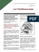 Lettre d'information du cabinet TerraNueva - novembe 2009