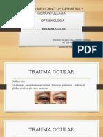 Trauma Ocular.