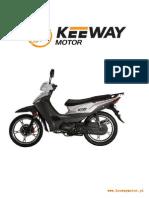 Keeway KEE 110 CC - Lista de Peças
